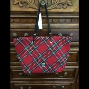 Dooney and Bourke Addison Red Tote Bag